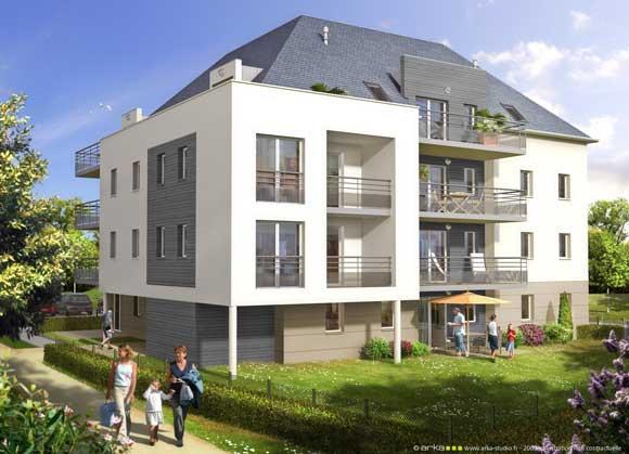 Tricot architecture accueil nos r f rences logements for Pret accession logement