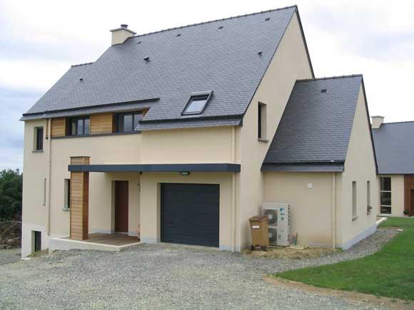Tricot architecture accueil nos r f rences maisons individuelles - Ravalement maison individuelle ...
