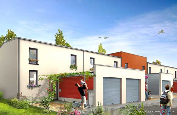 tricot-12 maisons individuelles-pace-35-perspective